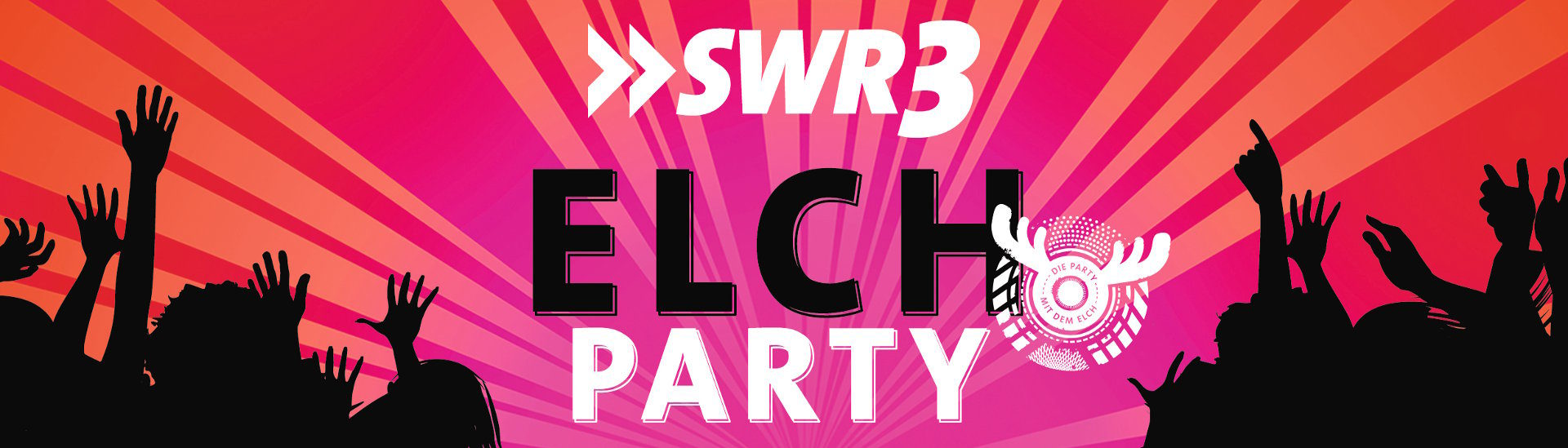 Logo ElchParty mit Partypeoples
