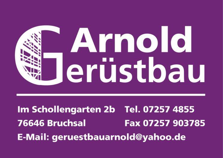 Sponsorenlogo: Gerüstbau Arnold