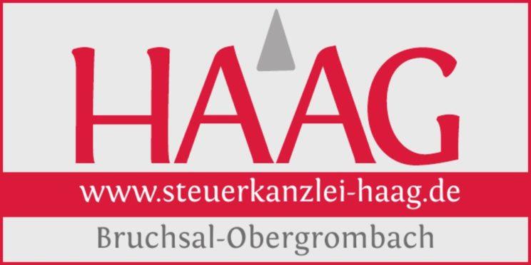 Sponsorenlogo: Steuerkanzlei Haag