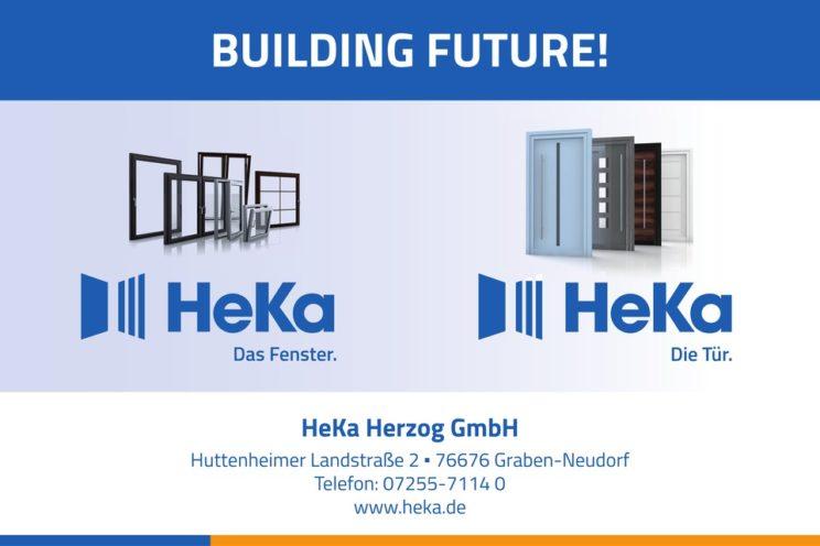 Sponsorenlogo: Heka – Fenster und Türen