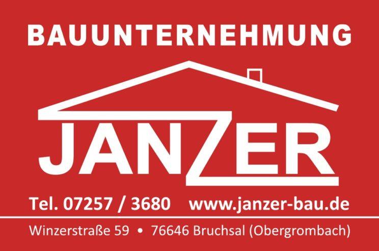 Sponsorenlogo: Bauunternehmen Janzer