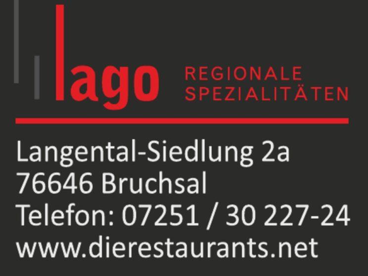 Sponsorenlogo: Restaurant Lago