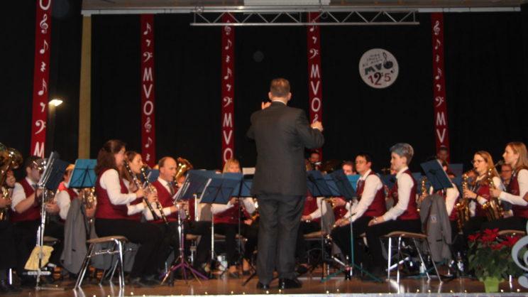 Hauptorchester beim Winterkonzert 2019